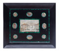 Other, An Italian Marble Plaque Set with Nine Micro-Mosaic Depicting Roman Scenes. 19-1/4 x 22-1/2 inches (48.9 x 57.2 cm). ...