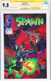 Spawn #1 Signature Series - Todd McFarlane (Image, 1992) CGC NM/MT 9.8 White pages