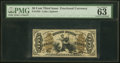 Fractional Currency:Third Issue, Fr. 1355 50¢ Third Issue Justice PMG Choice Uncirculated 63 EPQ.. ...