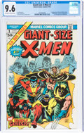 Bronze Age (1970-1979):Superhero, Giant-Size X-Men #1 (Marvel, 1975) CGC NM+ 9.6 Off-white to white pages....
