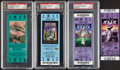 Football Collectibles:Others, 2002-2015 New England Patriots Super Bowl Full Tickets, Lot of 4. ... (Total: 4 items)