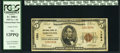 National Bank Notes:Vermont, Vergennes, VT - $5 1929 Ty. 1 The National Bank of Vergennes Ch. # 1364 PCGS Fine 12PPQ.. ...