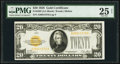 Small Size:Gold Certificates, Fr. 2402 $20 1928 Gold Certificate. PMG Very Fine 25 Net.. ...