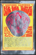 Movie Posters:Rock and Roll, The Jimi Hendrix Experience at the Northern California Folk-Rock Festival & Other Lot (Bob Blodgett, 1969). Very Fine+. Foil... (Total: 3 Items)