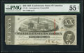 Confederate Notes:1863 Issues, CT58 $20 1863 Counterfeit PMG About Uncirculated 55 Net.. ...