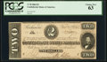 Confederate Notes:1864 Issues, T70 $2 1864 PF-5 Cr. 567 PCGS Choice New 63.. ...