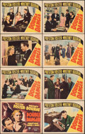 """Movie Posters:Documentary, Double Danger (RKO, 1938). Fine+. Lobby Card Set of 8 (11"""" X 14""""). Documentary.. ... (Total: 8 Items)"""