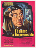 """Movie Posters:Foreign, The Man in the Raincoat (Cocinor, 1958). Folded, Very Fine-. French Moyenne (23.5"""" X 31.25""""). Foreign.. ..."""