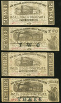 Obsoletes By State:Louisiana, New Orleans, LA- New Orleans, Jackson & Great Northern Rail Road Company $2 (2); $3 (2) Nov. 16, 1861 Fine or Better.. ... (Total: 4 notes)