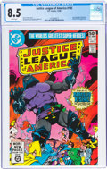 Modern Age (1980-Present):Superhero, Justice League of America #185 (DC, 1980) CGC VF+ 8.5 White pages....