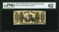 Fractional Currency:Third Issue, Fr. 1343 50¢ Third Issue Justice PMG Uncirculated 62.. ...
