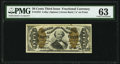 Fractional Currency:Third Issue, Fr. 1334 50¢ Third Issue Spinner PMG Choice Uncirculated 63.. ...