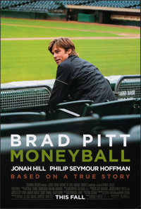 """Moneyball & Other Lot (Columbia, 2011). Rolled, Very Fine. One Sheets (2) (27"""" X 40"""") DS Advance. Sports..."""