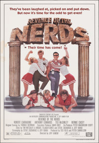 """Revenge of the Nerds (20th Century Fox, 1984). Rolled, Fine/Very Fine. One Sheet (27"""" X 41""""). Comedy"""