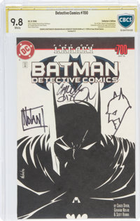 Detective Comics #700 Collector's Edition - Authentic Signature: Graham Nolan and Chuck Dixon (DC, 1996) CBCS NM/MT 9.8...