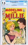 Silver Age (1956-1969):Romance, Modeling with Millie #39 (Marvel, 1965) CGC VF- 7.5 Off-white to white pages....