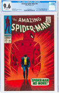 Silver Age (1956-1969):Superhero, The Amazing Spider-Man #50 (Marvel, 1967) CGC NM+ 9.6 White pages....