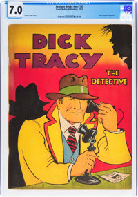 Feature Books #nn (1B) Dick Tracy (David McKay Publications, 1937) CGC FN/VF 7.0 Cream to off-white pages