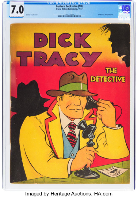 Feature Books #nn (1B) Dick Tracy (David McKay Publications, 1937) CGC FN/VF 7.0 Cream to off-white pages....