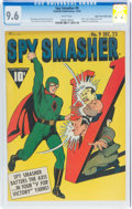 Golden Age (1938-1955):Superhero, Spy Smasher #9 Mile High Pedigree (Fawcett Publications, 1942) CGC NM+ 9.6 White pages....