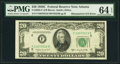 Error Notes:Mismatched Serial Numbers, Mismatched Serial Numbers Error Fr. 2062-F $20 1950C Federal Reserve Note. PMG Choice Uncirculated 64 EPQ.. ...