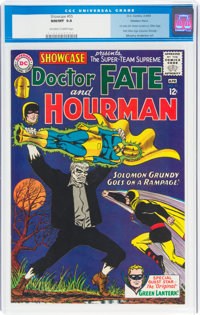 Showcase #55 Doctor Fate and Hourman - Western Penn Pedigree (DC, 1965) CGC NM/MT 9.8 Off-white to white pages