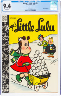 Marge's Little Lulu #8 (Dell, 1949) CGC NM 9.4 White pages