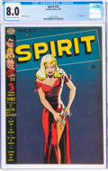 Golden Age (1938-1955):Superhero, The Spirit #22 (Quality, 1950) CGC VF 8.0 Cream to off-white pages....