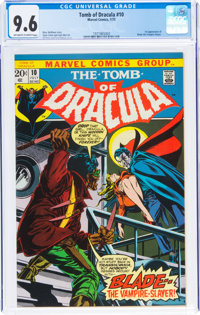 Tomb of Dracula #10 (Marvel, 1973) CGC NM+ 9.6 Off-white to white pages