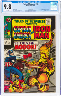 Tales of Suspense #94 (Marvel, 1967) CGC NM/MT 9.8 White pages