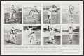"""Baseball Collectibles:Photos, Circa 1913 Fatima Cigarettes Poster """"Opposing Pitchers In The Coming World Series Battles"""" No. 56...."""