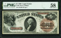 Fr. 29 $1 1880 Legal Tender PMG Choice About Unc 58