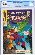 Silver Age (1956-1969):Superhero, The Amazing Spider-Man #49 (Marvel, 1967) CGC NM/MT 9.8 White pages....