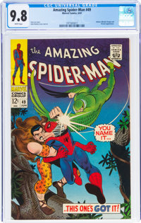 The Amazing Spider-Man #49 (Marvel, 1967) CGC NM/MT 9.8 White pages