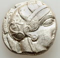 Ancients:Greek, Ancients: ATTICA. Athens. Ca. 440-404 BC. AR tetradrachm (24mm, 17.18 gm, 10h). Choice XF. ...