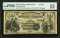 National Bank Notes:Pennsylvania, Waynesburg, PA - $20 1882 Date Back Fr. 553 The Peoples National Bank Ch. # (E)5085 PMG Choice Fine 15.. ...