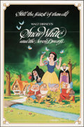 """Movie Posters:Animation, Snow White and the Seven Dwarfs & Other Lot (Buena Vista, R-1983/R-1993). Folded, Very Fine+. One Sheets (2) (27"""" X 41"""") & P... (Total: 3 Items)"""