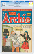 Golden Age (1938-1955):Humor, Archie Comics #26 (Archie, 1947) CGC VG/FN 5.0 Off-white to white pages....