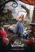 """Movie Posters:Fantasy, Alice in Wonderland & Other Lot (Walt Disney Pictures, 2010). Rolled, Very Fine+. One Sheets (3) (27"""" X 40"""") DS Advance, Ali... (Total: 3 Items)"""