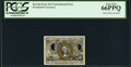 Fractional Currency:Second Issue, Milton 2E25F.6 25¢ Second Issue Experimental PCGS Gem New 66PPQ.. ...