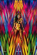 """Movie Posters:Action, Wonder Woman 1984 (Warner Bros., 2020). Rolled, Very Fine+. One Sheet (27"""" X 40"""") DS Teaser. Action.. ..."""