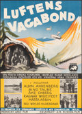 "Movie Posters:Foreign, Luftens Vagabond (Europa Film, 1933). Very Fine- on Chartex. Full-Bleed Swedish Poster (25.5"" X 35.5""). Foreign.. ..."