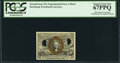 Fractional Currency:Second Issue, Milton 2E25F.4 25¢ Second Issue Experimental PCGS Superb Gem New 67PPQ.. ...