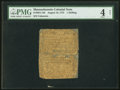 Colonial Notes:Massachusetts, Massachusetts August 18, 1775 1s PMG Good 4 Net.. ...