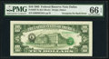 Error Notes:Third Printing on Reverse, Third Printing on Back Error Fr. 2027-K $10 1985 Federal Reserve Note. PMG Gem Uncirculated 66 EPQ.. ...