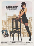 "Movie Posters:Musical, Cabaret (20th Century Fox, 1972). Folded, Very Fine+. English Language French Moyenne (23"" X 31.25"") Rene Ferracci Artwork. ..."