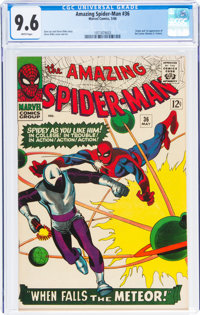 The Amazing Spider-Man #36 (Marvel, 1966) CGC NM+ 9.6 White pages