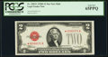Small Size:Legal Tender Notes, Fr. 1505* $2 1928D Mule Legal Tender Note. PCGS Gem New 65PPQ.. ...