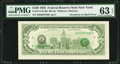 Third Printing on Back Error Fr. 2174-B $100 1993 Federal Reserve Note. PMG Choice Uncirculated 63 EPQ