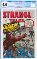 Silver Age (1956-1969):Adventure, Strange Tales #84 (Atlas, 1961) CGC VG 4.0 Off-white pages....